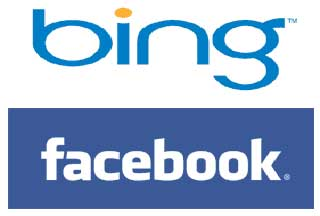 Facebook and Bing partnership