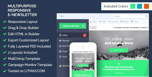 Top 10 Responsive Business Website Email Templates