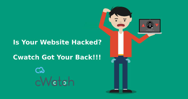 is website hacked cwatch