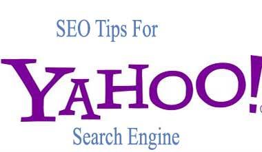 SEO tips for Yahoo
