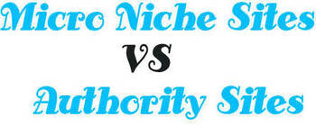 Micro Niche Sites Vs Authority Sites