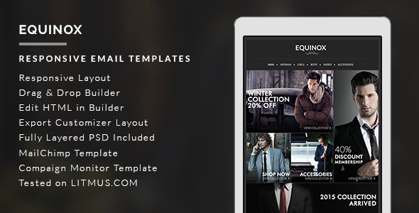 responsive email template7